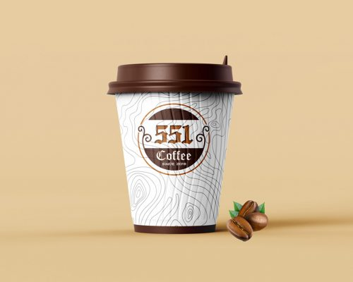Logo 555 Coffee